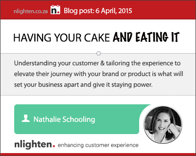 nlighten.co.za - Customer Experience Blog 6 April 2015