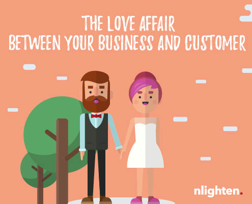 nlighten. Blog 2 February 2017. Feedback - The love affair between your business and customers