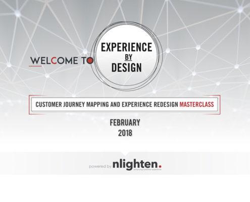 Welcome - CX Masterclass with nlighten