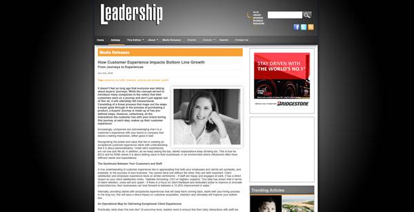 Leadership nlighten Article July 2018