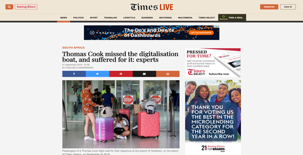 TimesLive Article